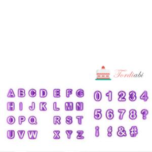 Tordiabi plastmassvorm numbrid tähed
