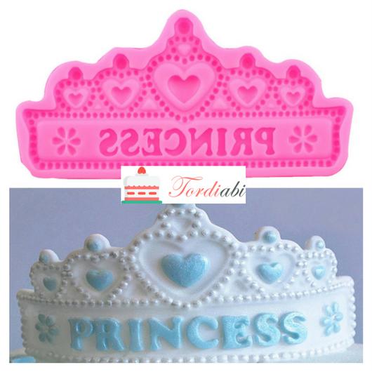Tordiabi silikoonvorm printsessi kroon