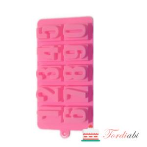 Tordiabi silikoonvorm numbrid3D