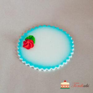 Tordiabi tordikaunistus suhkrumassist nimeplaat sinine