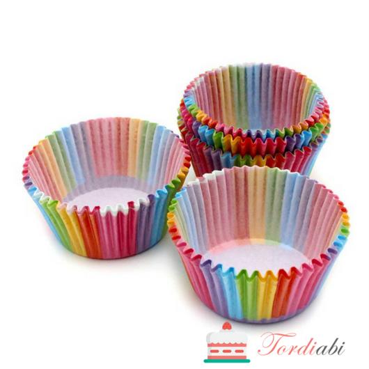 Tordiabi värvilised muffini küpsetusvormid
