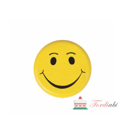 Tordi šokolaadikaunistus smile emotikon