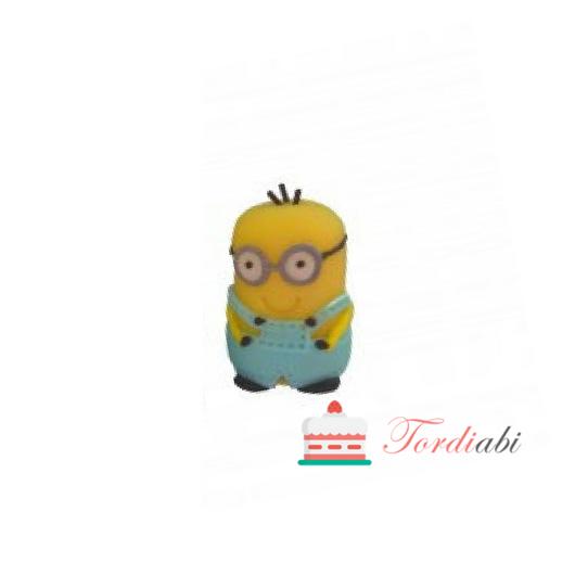 Tordiabi suhkrukaunistus Minion Bob