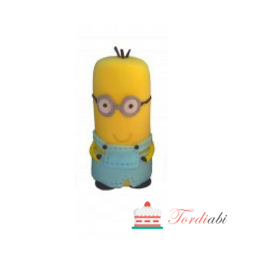 Tordiabi suhkrukaunistus Minion Kevin