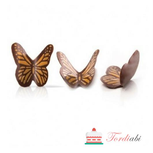 Tordiabi šokolaadidekoor liblikad