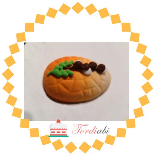 Tordiabi suhkrukaunistus lihavõttemuna oranz