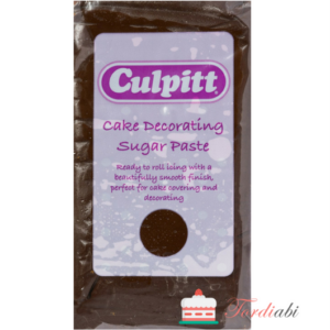 Tordiabi suhkrumass Culpitt, pruun šokolaad