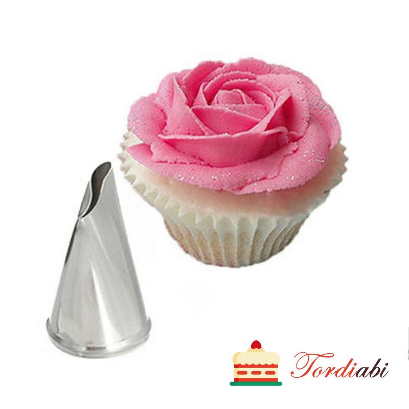 Tordiabi tülle roosi kroonlehtede tegemiseks