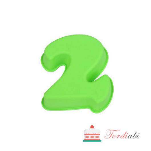 Tordiabi väike silikoonist numbrivorm 2