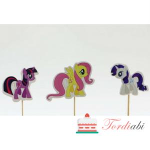 Tordiabi 3 poni topperit