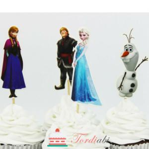 Tordiabi Frozen topperid 4 tk