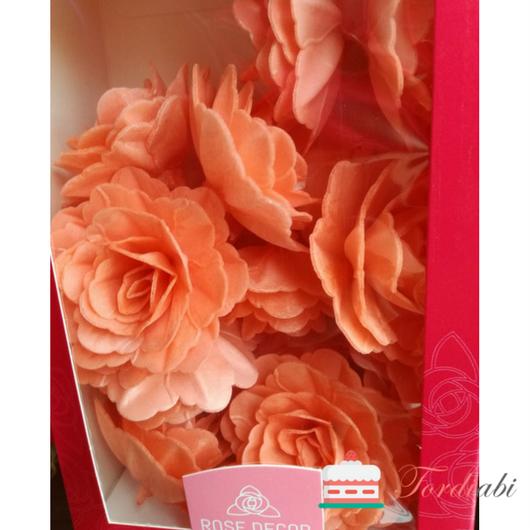 Tordiabi oranžid suured käharad roosid 15 tk