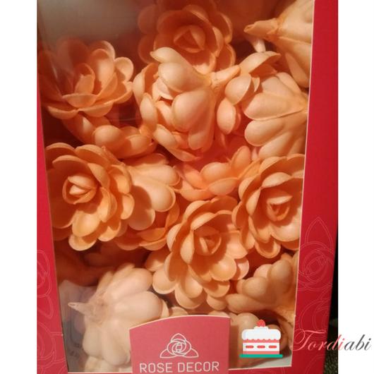 Tordiabi oranžikad vahvliroosid 50 tk