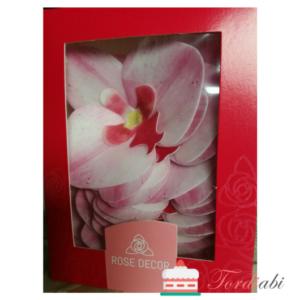 Tordiabi vahvlikaunistus roosa orhidee
