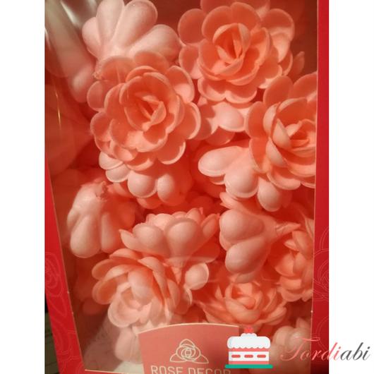 Tordiabi roosad vahvliroosid 50 tk