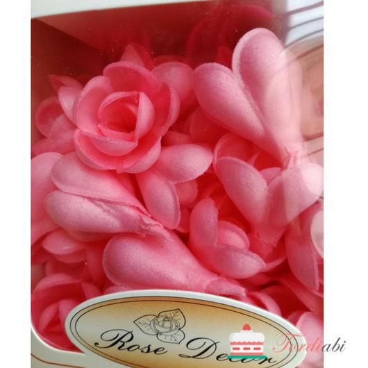 Tordiabi roosad vahvliroosid 60 tk