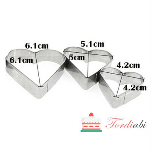 Tordiabi südamevormid metallist 3