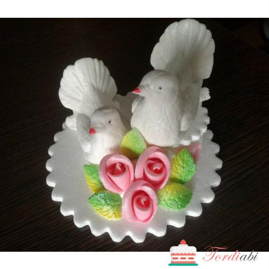 ordiabi pulmadekoor tuvid roosade roosidega