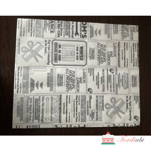 Tordiabi niiskus-ja rasvakindel paber 1