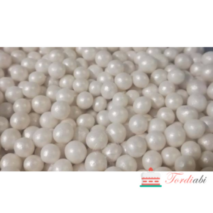 Tordiabi pärlmutter valged pärlid 4mm