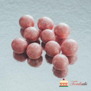 Tordiabi roosad suured krõbedad sokolaadipallid