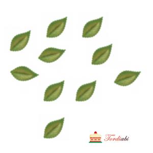 Tordiabi vahvlist kuldsed rohelised lehed 10 tk