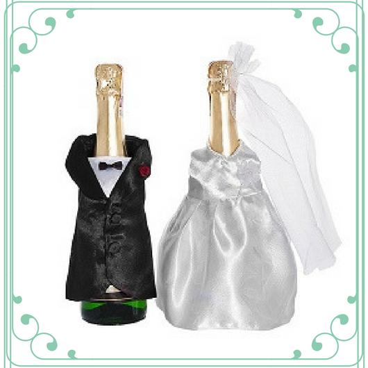 Šampanja pudeliümbrised pulm