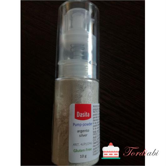 Tordiabi hõbedane pulber spray