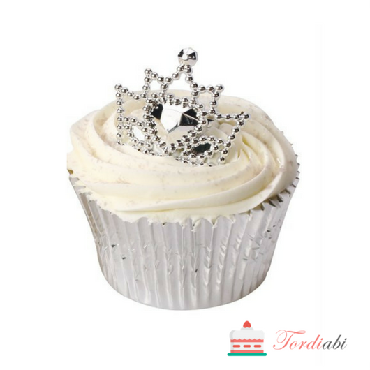 Tordiabi hõbedased printsessi kroonid