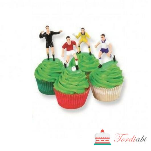 Tordiabi jalgpallurid muffinitel