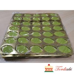 Tordiabi rohelised martsipanilehed