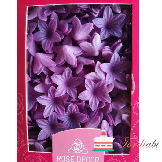 Tordiabi vahvlidekoor lillad väikesed kellukad
