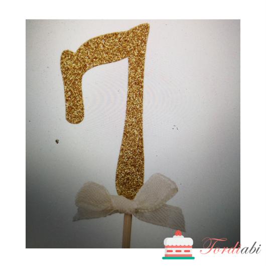 Tordiabi kuldne topper number 7