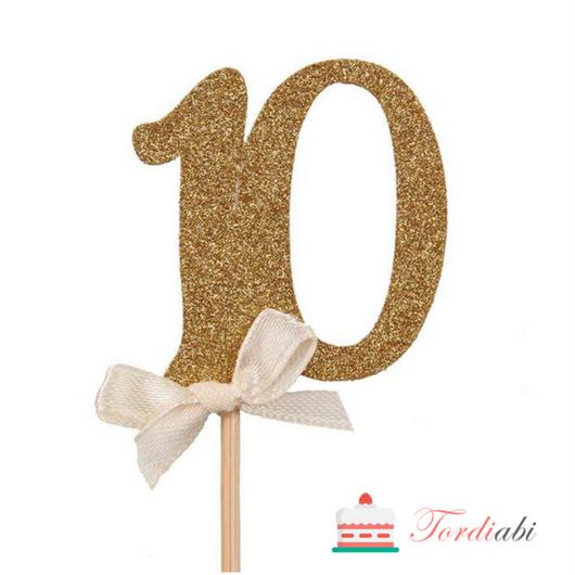 Tordiabi topper number 10