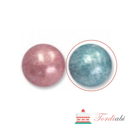 Tordiabi helesinised suured pärlid