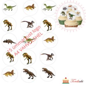 A4 VAHVLILEHEL dinosaurused