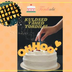 KULDSED TÄHED TORDILE!1