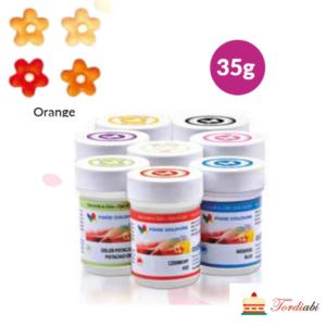 Tordiabi oranž geel-toiduvärv