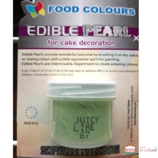 Tordiabi söödav sädelus juicy lime