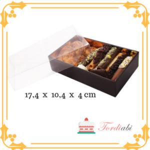 17,4 x 10,4 x 4 cm Tordiabi trühvlikarp