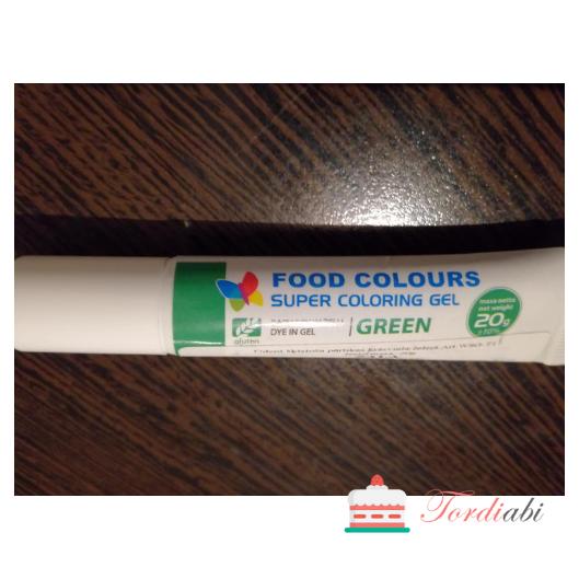Tordiabi roheline geel-toiduvärv