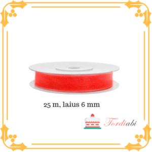 Tordiabi neoonroosa pael 6mm