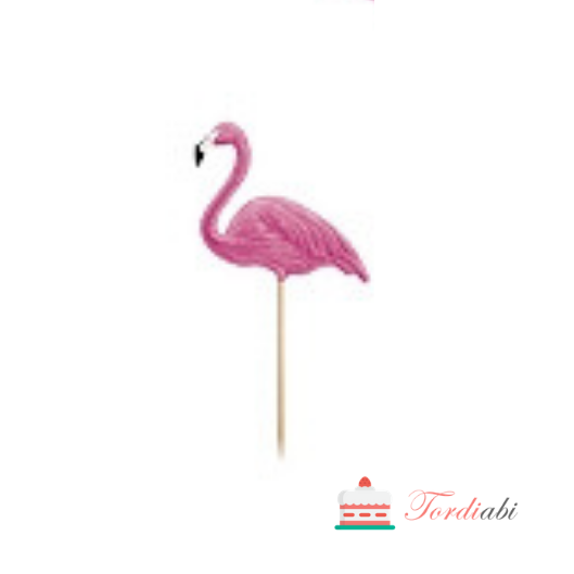 Tordiabi väike flamingo topper