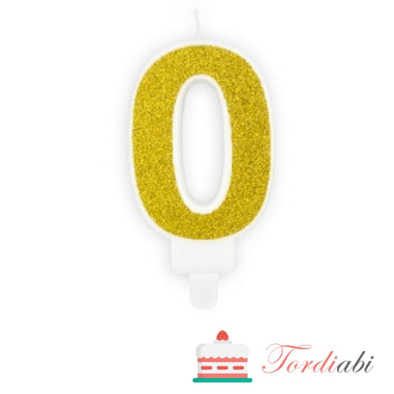 Tordiabi kuldne küünal number 0