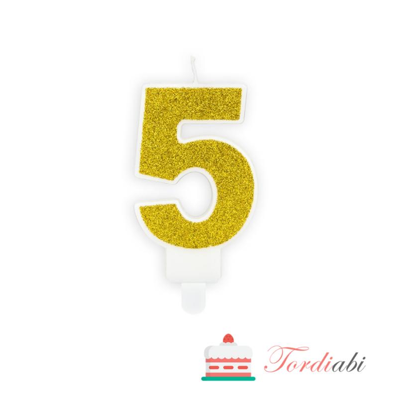 Tordiabi kuldne küünal number 5