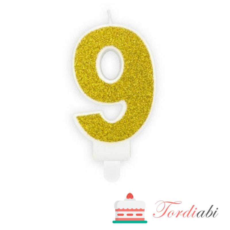 Tordiabi kuldne küünal number 9