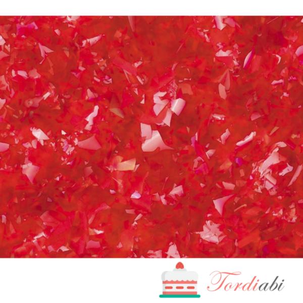 Tordiabi punased läikivad helbed
