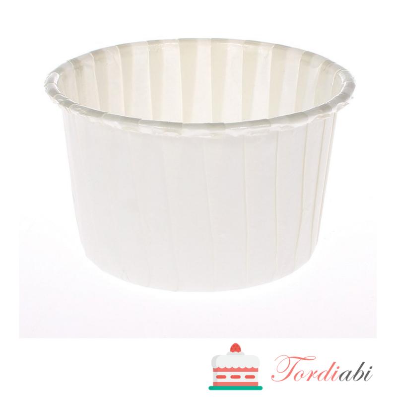 Tordiabi valged tugevad muffinivormid