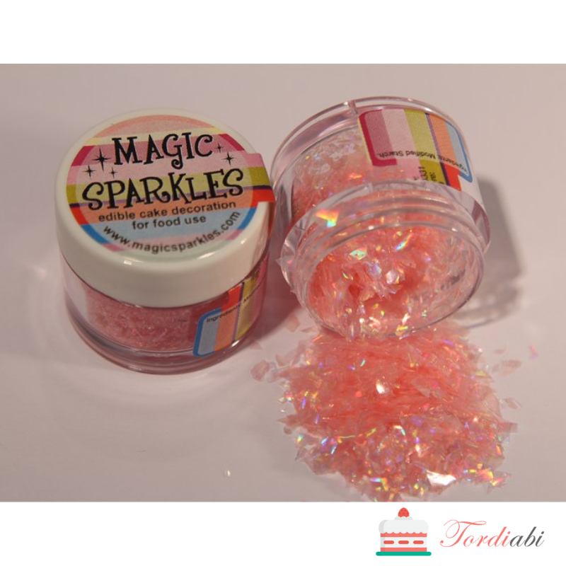 Tordiabi magic sparkles roosa