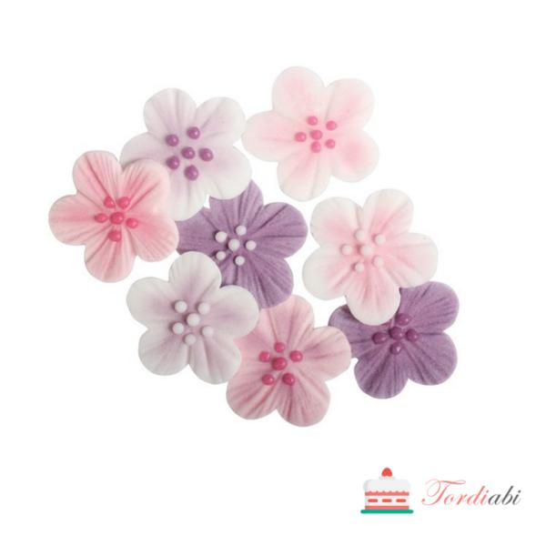 Tordiabi roosakad õied